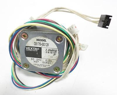 Vexta Model 2 Phase 0.9/Step 0.2A 24V Stepping Motor C8170-9012K
