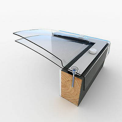 Mardome Trade Dome Skylight for Flat Roofs, Polycarbonate Roof Light Window