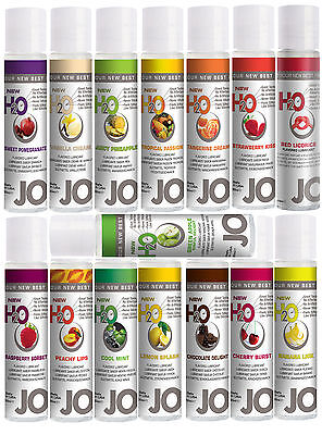 SYSTEM JO H2O LUBE Lubricant 17 Flavours Inc Chocolate Sex Aid 30ml Water Based