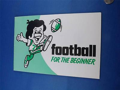 Football For The Beginner Booklet John Woloshy O.a.f.a. Ministry Of Recreation