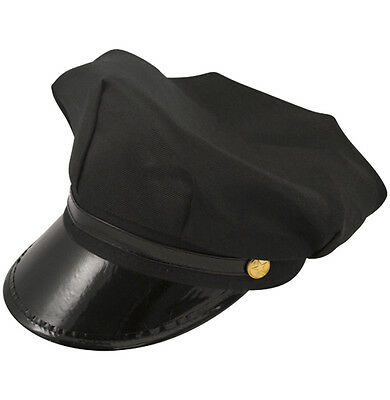 White chauffeur style hat Officer and a gentleman Size 58cm