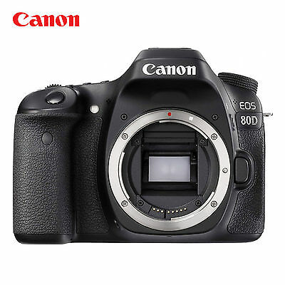 Canon EOS 80D Digital SLR Camera 24.2MP Built-In Wi-Fi with NFC ( Body Only )