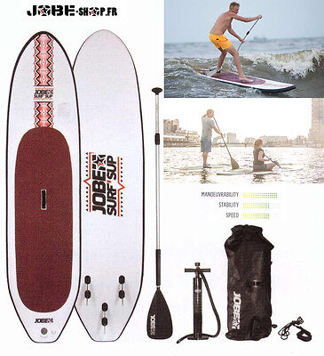 JOBE 2015 - paddle Surf'Sup Package 9,8'' - paddle+bag+pump+leach+paggaie