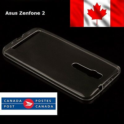 Asus Zenphone 2 Ultra Thin 0.3mm Clear Soft Cover Case TPU ZE551ML ZE550ML