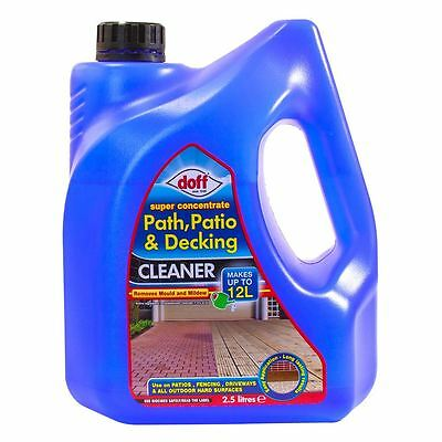 Doff Path, Patio & Decking Cleaner for Mould & Mildew 2.5L makes 12L