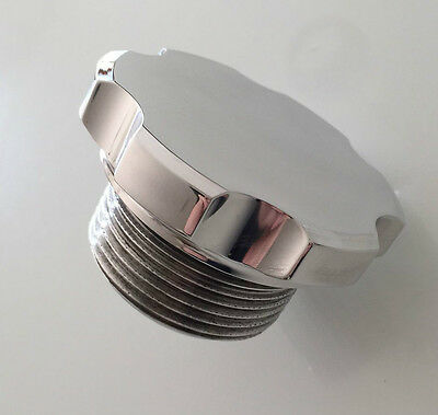 Land Rover Series 3 V8 3.5 Range Rover Defender Polished Alloy Oil Filler Cap