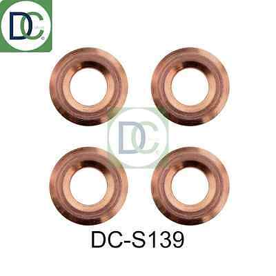 4 x Diesel Injector Washers Seals - Toyota Corolla Verso 2.2 D-4D Denso 2AD-FTV