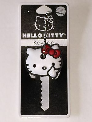 Loungefly Hello Kitty Peace Sign Key Cap Cover with Chain