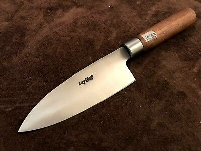 Quality Handmade High Carbon Steel Chef Knife-Messe-Kitchen-Santoku-KC53