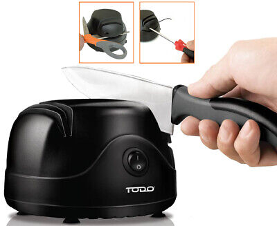New Electric Knife Sharpener Knive Scissors Screwdriver Tool Kitchen Blade Sharp