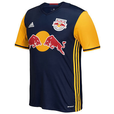 NY Red Bulls Replica Away Youth Jersey 2016 Soccer Jersey Dark Blue NEW