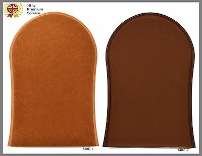 New Self Tan Velvet Tanning Mitt Glove For A Streak-Free Application UK Seller