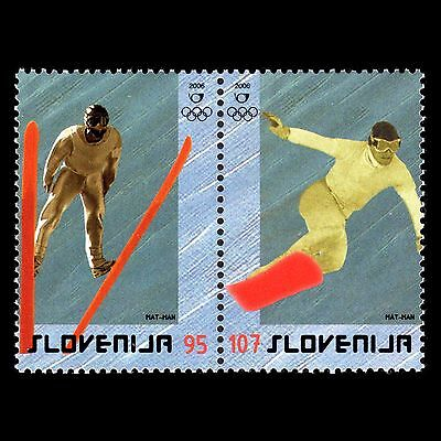 Slovenia 2006 - Summer Olympic Winter Games Turin Sports - Sc 657 MNH