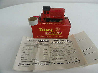 Triang R253 Dock Authority Diesel Shunter 0-4-0 Loco