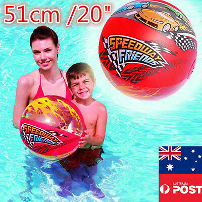51cm Bestway Beach Ball Swimming Pool Toys Inflatable Vinyl Air Blow Lake Party