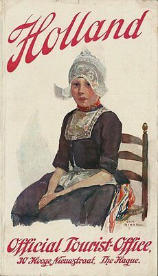 1920's Official Tourist Office Booklet - HOLLAND