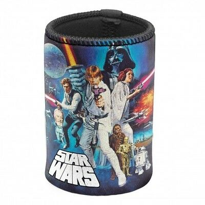 STAR WARS Stubby Holder - Can Cooler - Beer BBQ Man Cave Movie Collectable