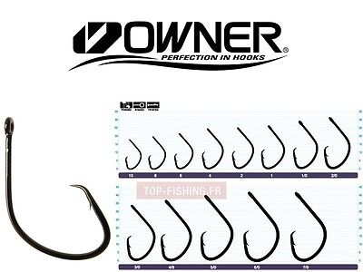 Owner MUTU Light Circle Fishing Hooks - 1 Pack - Choose Your Size
