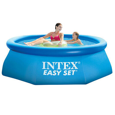 INTEX Easy Pool Quick Up Swimming Pool 244x76cm Schwimmbecken Planschbecken