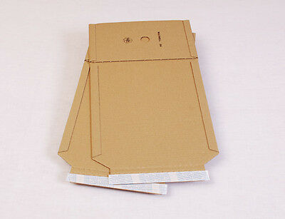100 x Buchverpackung DIN A5 - 217*155*10-50 mm | MW352