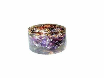 Amethyst Orgone Tower Buster Piezo Electric EMF Protection Generator Frequency