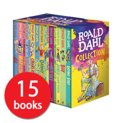 Roald Dahl Collection - 15 Books