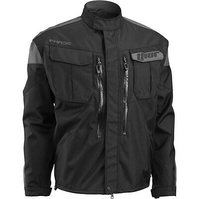 Thor S16 Phase Over Jacket Adult Black Off Road Enduro Trail Waterproof Cheap