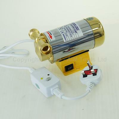 90W Automatic Home Shower Washing Machine Water Booster Pump WITH UK VAT INVOICE