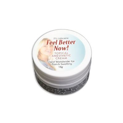 "15g Cream of ""Feel Better Now"" Topical Anesthetic - Less Pain"