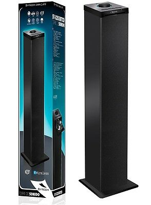 Altavoz Torre Con Bluetooth Altavoces Reproductor Cd Usb Nfc Inalambrico 60W
