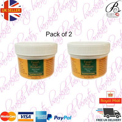 2 x T444Z Hair Food for Hair Growth 150g