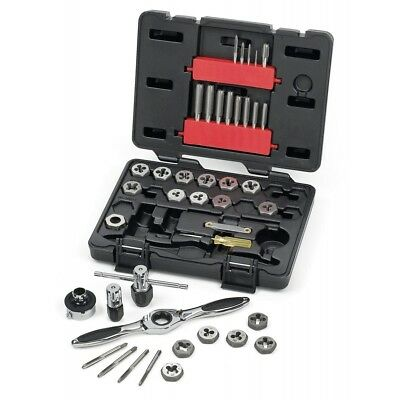 Gearwrench 40pc SAE Ratcheting Tap & Die Set Standard Drive Steel Tools STD 3885