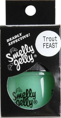 Smelly Jelly TROUT FEAST Scent 30ml Jar (Bio Dip S Factor Bream Barra Lures)