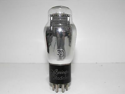 RCA Type 59  Amplifier Vacuum Tube Tested