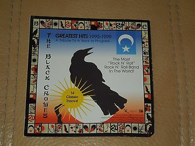 2000 The Black Crowes Double Sided Greatest Hits Window/Glass Sticker Sony Inc