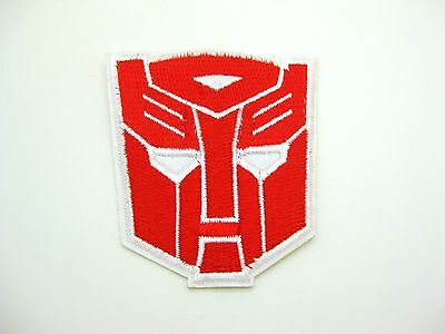 Transformer Autobots Embroidered Patch Iron On Applique Sewing 6 x 7cm