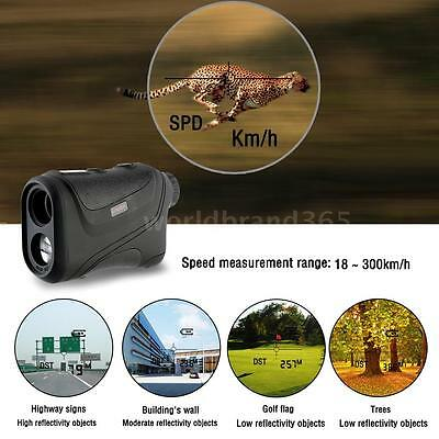 LIXADA Innovations Range Finder 600M Distance Measurement Hunting Golf W7S7