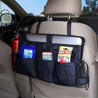 New Car Back Seat Organizer Multi Pocket Travel Storage Bag For Accessories Tool
