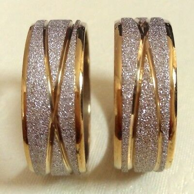 15pcs Gold star line   stainless steel rings fashion rings lots wholesale