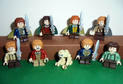 Lego Selection lord of the rings The Hobbit Mini figurines Hobbits with Gollum