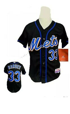 New York Mets Mat Harvey 33 Majestic Cool Base MLB Baseball Jersey Mens 48 BNWT