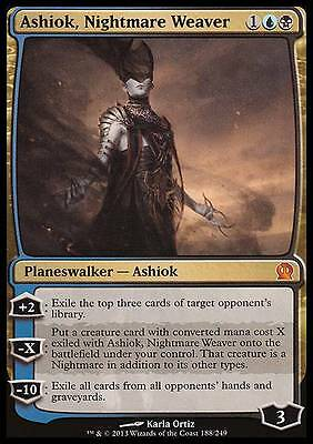 ASHIOK, TESSITORE DI INCUBI - ASHIOK, NIGHTMARE WEAVER Magic THS Mint Theros