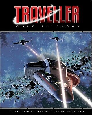 Traveller Role Playing Game - Core Rulebook 2016 Edition