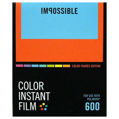 Impossible 600 Type Colour Borders - NEW VERSION
