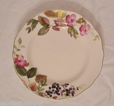 """Charter Club Home Wild Flowers China 11"""" Dinner Plate Federated Dept"""