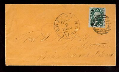 USA #35 (Type V) On Cover To PEI Canada
