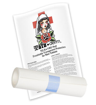 Tatu-Derm Roll - Tattoo Aftercare System for the Tattoo Artist