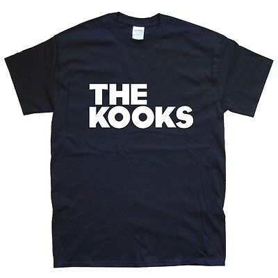 THE KOOKS T-SHIRT sizes S M L XL XXL colours Black, White