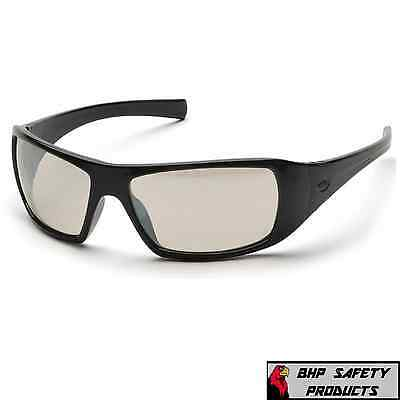 Pyramex Goliath Safety Glasses Indoor/Outdoor Mirror Lens Sb5680D Z87+ (1 Pair)