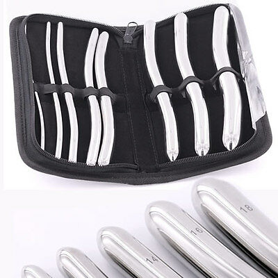 8 Piece Dilator Set with Pouch - Hegar Sounds